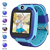 Kids Smartwatch Children Phone Smart Watch Two-Way Call SOS Games Camera Music Player 1.54 inch Touch Screen Boys Girls Gift ...