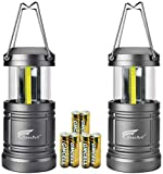 HAUSBELL LED Lantern Camping Lantern, Portable LED Camping Lantern Flashlights -Survival Kit for Emergency, Collapsible, Waterproof, Shockproof 2 Pack