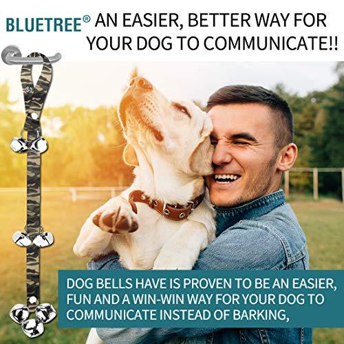 2 Pack Dog Doorbells Premium Quality Training Potty Great Dog Bells Adjustable Door Bell Dog Bells for Potty Training Your Puppy The Easy Way - Premium Quality - 7 Extra Large Loud 1.4 DoorBells 6