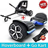Gyroor T581 Hoverboard 6.5' Off Road All Terrain Hoverboards with Bluetooth Speaker&LED Lights Two-Wheel Self...