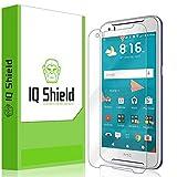 HTC Desire 830 Screen Protector, IQ Shield LiQuidSkin Full Coverage Screen Protector for HTC Desire 830 HD Clear Anti-Bubble Film - with