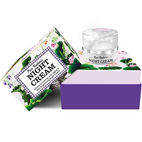 51SVS0lYz4L - StBotanica Pure Radiance Night Cream - Intensive Firming, Anti-Aging & Skin Brightening, 50gm (With Vitamin C, Retinol, Hyaluronic acid, Collagen)
