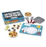 Melissa & Doug Toys Wooden Flip & Serve Pancake Set