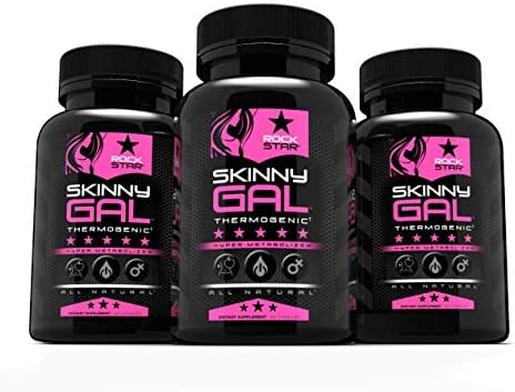 Skinny Gal Weight Loss For Women, Diet Pills by Rockstar, Thermogenic Diet Pill and Fat Burner, Weight Loss Pills, 60 Veggie Caps 4
