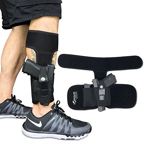 Concealed Carrier (TM) Ankle Holster for Concealed...