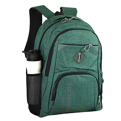 51SaOMSymIL - Storite Imported Travel Laptop Backpack, Casual Business College School Bag for Men & Women Fits 15.6 Inch Laptop -(46x30x16 cm, Pine Green)