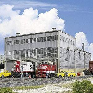 Walthers Cornerstone Series Kit HO Scale Diesel House 51SemDEAbZL