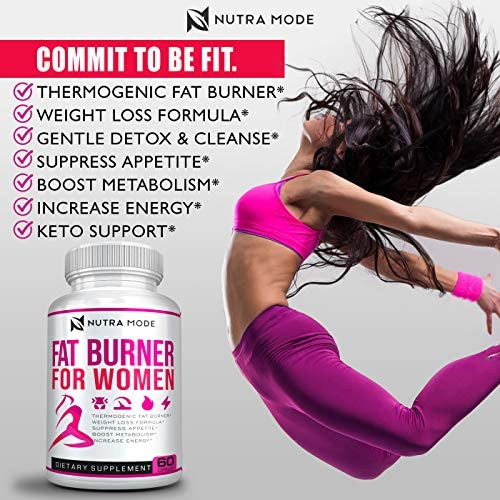 Natural Weight Loss Pills for Women-Best Diet Pills that Work Fast for Women-Appetite Suppressant-Thermogenic Belly Fat Burner-Carb Blocker-Metabolism Booster Energy Pills-Weight Loss Supplements-60ct 4