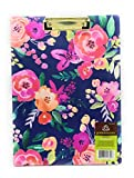 Sophisticated Nature Patterns CLIPFOLIO With 8.5 x 11 legal pad by Greenroom /Assorted Pattern
