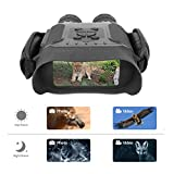 Bestguarder Night Vision Binoculars, 4.5-22.5×40 HD Digital Infrared Hunting Scope Record 5mp Photo & 1280p Video with Sound by 4'Display Up to 400m/1300ft-Upgrade Version