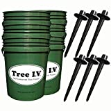 Tree I.V. Root Seeker 6-pk Natural Drain Commercial Grade Watering Systems