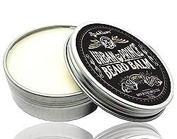 Urban Prince Beard Balm Leave in Conditioner Beard Butter Moisturizer Premium Refreshing Scent 2 oz - Best Leave in Conditioner Scented Beard Balm Gift Bearded Men  Image 1