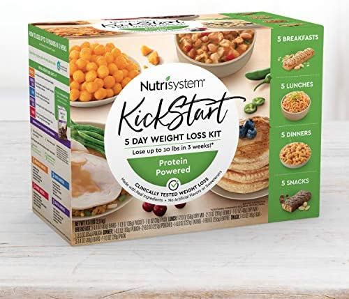 Nutrisystem® Kickstart Green Protein-Powered Kit - 5-Day Weight Loss Kit with Delicious Meals & Snacks 3
