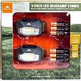 Ozark Trail 2-Pack LED Headlamp Combo