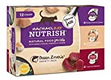 Rachael Ray Nutrish Ocean Lover's Variety Pack Wet Cat Food, 2.8 Ounce Cups (12 Count)