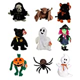 TY Beanie Babies - HALLOWEEN (Set of 9) (Sheets, Batty, Haunt, Fraidy, Scary, Spooky +3) (4-9 in)