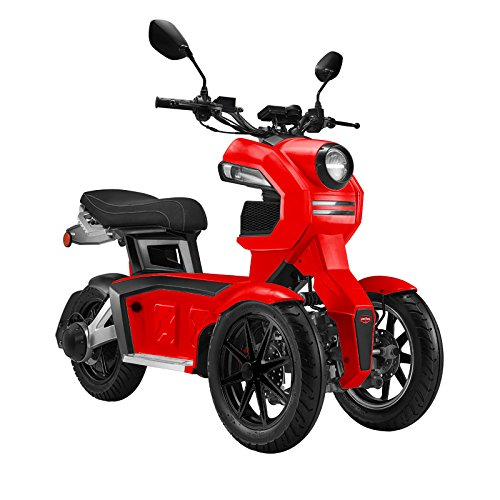 Doohan iTank electrical tricycle dual-front wheels EV3 (red)