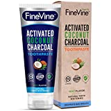 Charcoal Teeth Whitening Toothpaste - Made in USA - WHITENS...