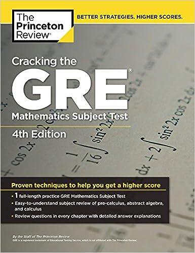 Resources | mathsub com - GRE Mathematics Subject Test
