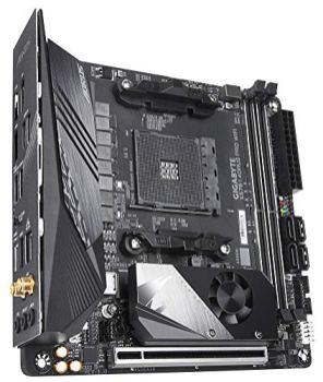 Gigabyte-X570-I-AORUS-Pro-WiFi-AMD-Ryzen-3000X570Mini-ItxPCIe40DDR4USB-31Realtek-ALC1220-VbDisplayPort-142xHDMI-20BRGB-Fusion-20Gaming-Motherboard