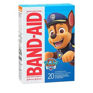 Band-Aid Brand Adhesive Bandages for Minor Cuts & Scrapes, Wound Care Featuring Nickelodeon Paw Patrol Characters for… 51T2lG2xBtL