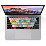 Adobe Photoshop Keyboard Cover for MacBook Pro Touch Bar - Protection and Shortcut Skin. 13' | 15'
