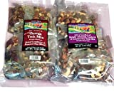 Omega Trek Mix & Just a handful Simply Almonds - Cashews - Cranberries 15 oz. each in individual pouches (20 bags) 2 Items