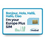 Mobal Europe Plus SIM Card Includes 7GB of Fast 4G Data, Excellent Coverage Throughout Europe