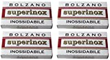 20 Bolzano Superinox Inossidabile Double Edge Razor Blades