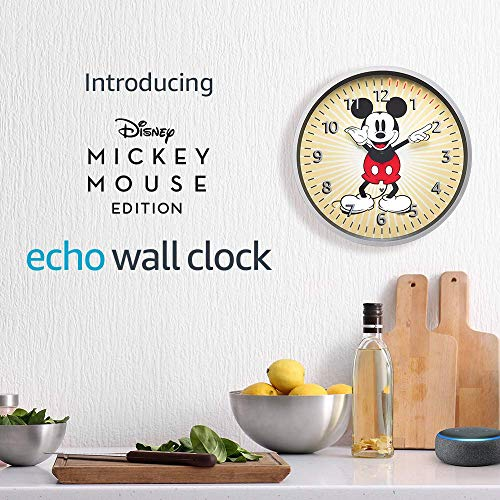 Echo-Wall-Clock-Disney-Mickey-Mouse-Edition-see-timers-at-a-glance-requires-compatible-Echo-device