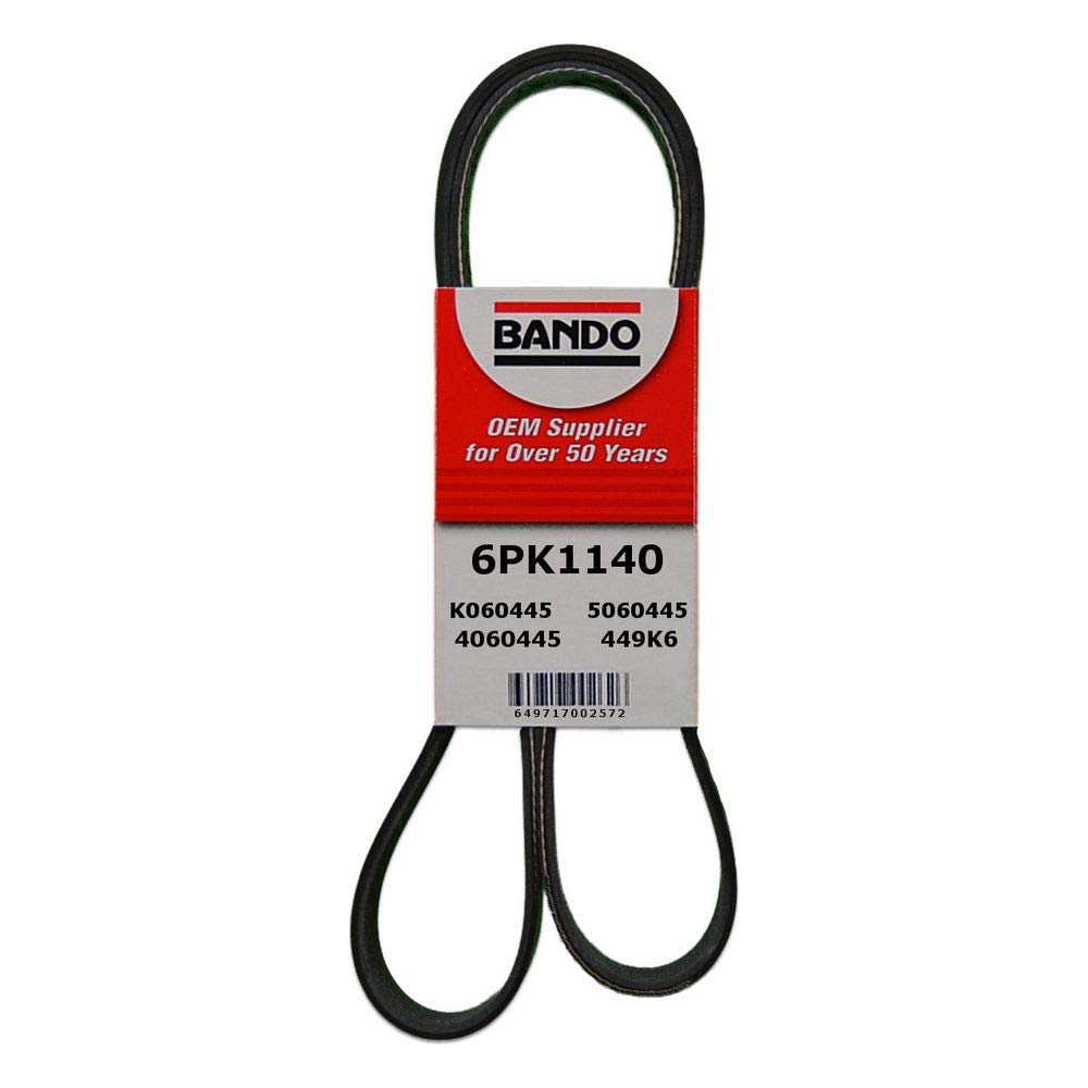 Best Power Steering Belt Bando USA 6PK1140 Belts