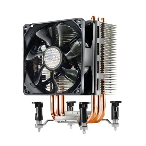 C'est pas très sexy un Cooler Master, ou un ventirad en général, on est d'accord...
