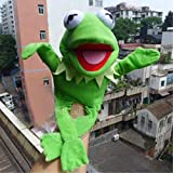 FidgetGear Muppets Most Wanted Show Kermit The Frog Plush Doll Hand Puppet Toy Gift