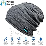 HighTechLife Upgraded Wireless Bluetooth Beanie Hat Headphones V4.2 Unique Christmas Tech Gifts for...