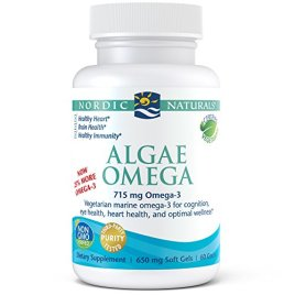 Nordic Naturals Algae Omega – Vegetarian Omega-3 Supplement for Eye Health, Heart Health, and Optimal Wellness