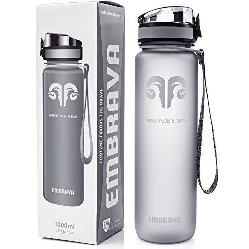 Best Sports Water Bottle - 32oz Large -...