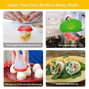 Egg-Maker-Set-6-Packs-Nonstick-Silicone-Eggs-Boiler-Cookers-without-Egg-Shell
