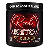 Real Keto Fat Burner - Antidote to Keto Plateaus - Thermogenic Weight Loss Supplement - for Men and Women - Maximum Fat Loss, Energy, Appetite Control, Metabolism, and Mood - 60 Veggie Diet Pills