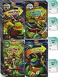Teenage Mutant Ninja Turtles Grab n Go Play Packs Children's Party Favor Pack Bundle (12 Packs)