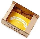 Amazon.com Gift Card in a Mini Amazon Shipping Box (Congratulations Icons Card Design)