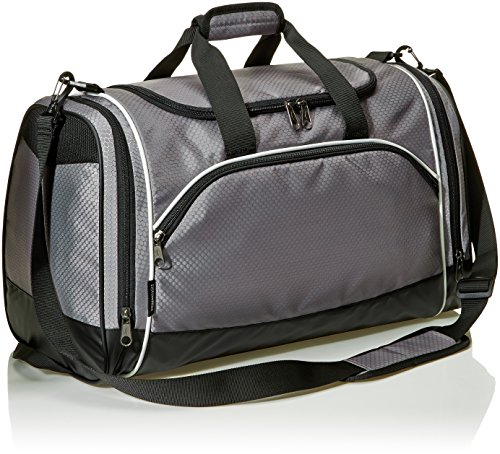 51TRqUiAJ8L - AmazonBasics 60 L Sports Duffel Bag - Medium (Grey)