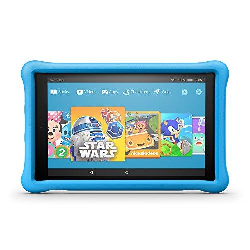 "All-New Fire HD 10 Kids Edition Tablet, 10.1"" 1080p Full HD Display, 32 GB, Blue Kid-Proof Case"