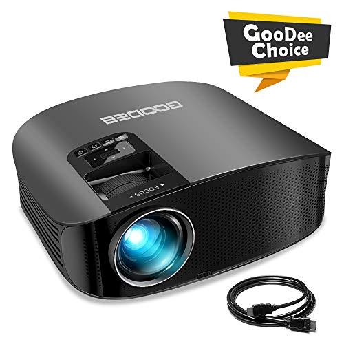 Projector, GooDee HD Video Projector...
