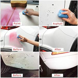 HSR Magic Car Truck Auto Vehicle Bar Clean Clay Practical 100g Cleaning Soap Detailing Cleaner (Pack of 2)