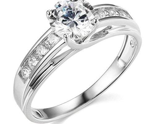 top 10 best diamond engagement rings under 500 top. Black Bedroom Furniture Sets. Home Design Ideas