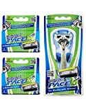 Dorco Pace 6 Plus- Six Blade Razor System with Trimmer - 10 Pack (1...