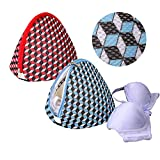 Dalykate Large Size Bra Wash Bags, Mesh Big Bra Laundry Bags with Premium Zipper, Clothing Washing Bags for Bras Lingerie, Laundry,Stocking, Underwear and Delicates Set of 2 for Women