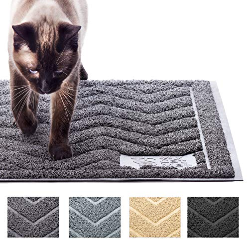 My-Cat-Mat-Cat-Litter-Mat-Traps-and-Controls-Kitty-Litter-Scatter-Large-XL-Size-for-Tracking-and-Trapping-Scat-from-Litter-Box-Best-Easy-Clean-Catching-and-Trapper-Rug-Soft-on-Paws-Grey