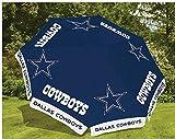 Dallas Cowboys NFL Football 9 Foot Beer Patio Umbrella Market Style