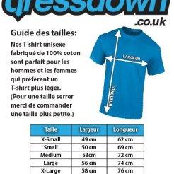 Dressdown-Fabrique-en-Besanon-100-Authentique-T-Shirt-pour-Homme-13-Couleurs